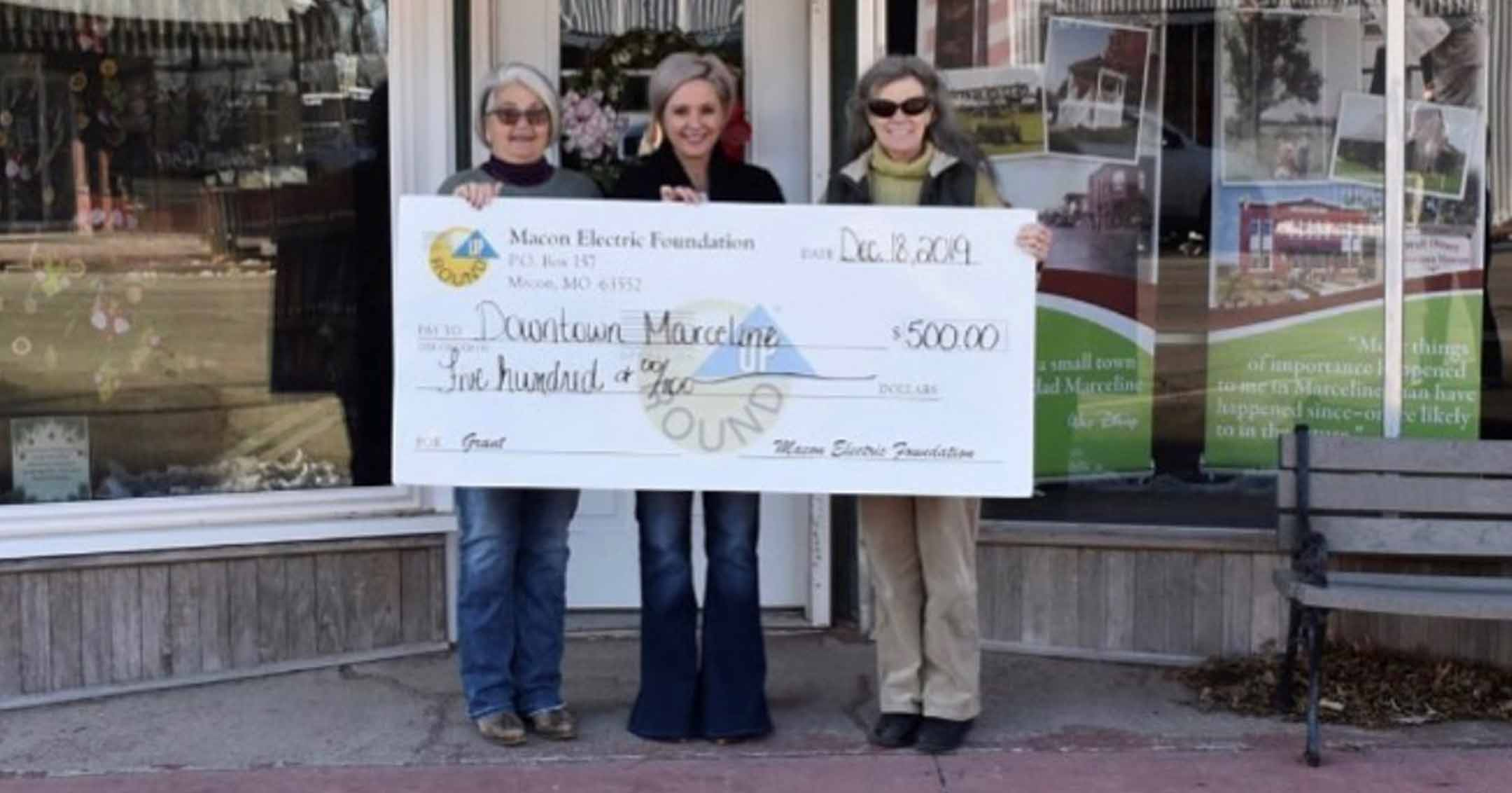2019 Macon Electric Foundation Grant Recipients   DowntownMarceline.org