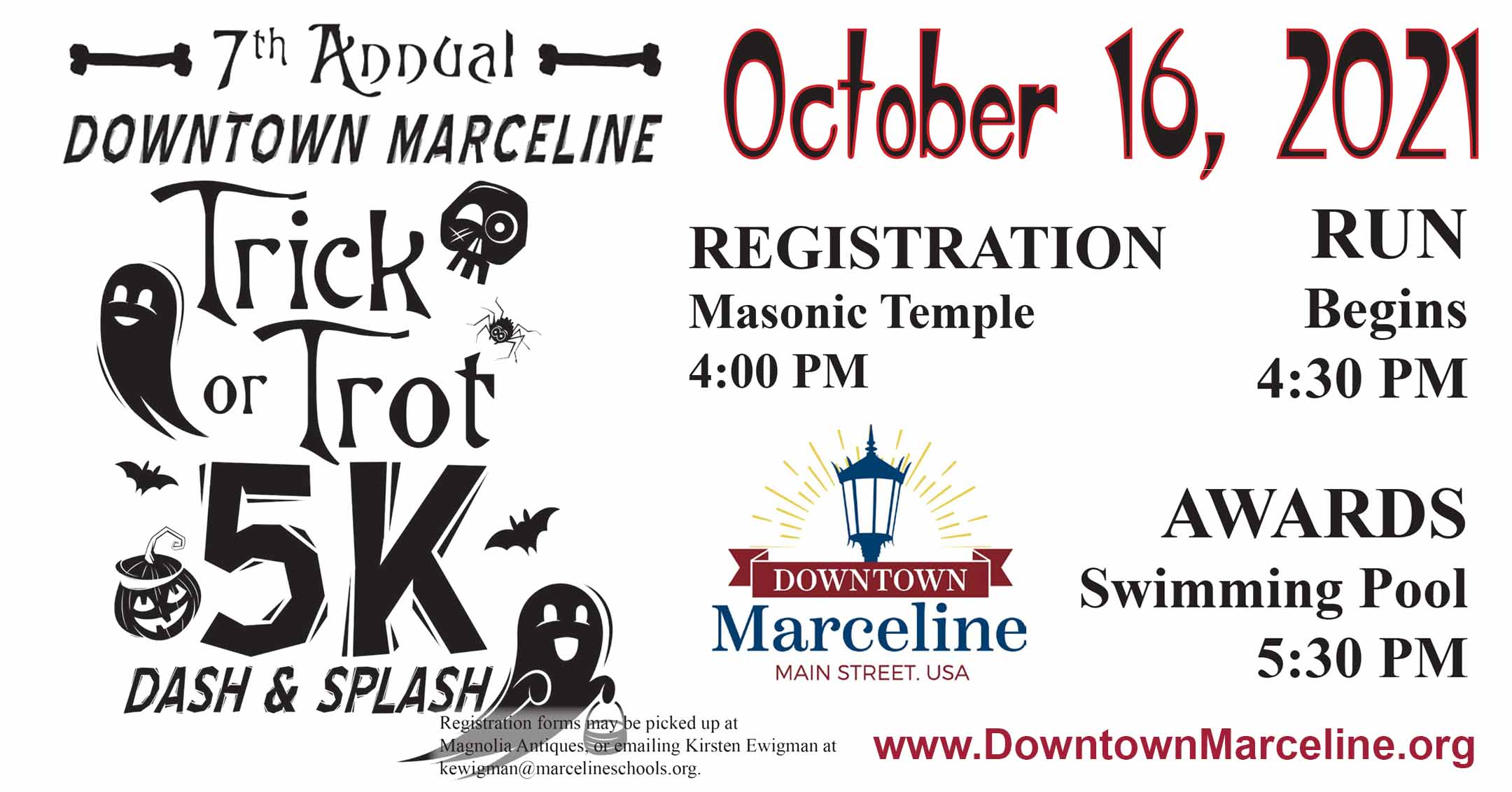 2021 Trick or Trot   DowntownMarceline.org