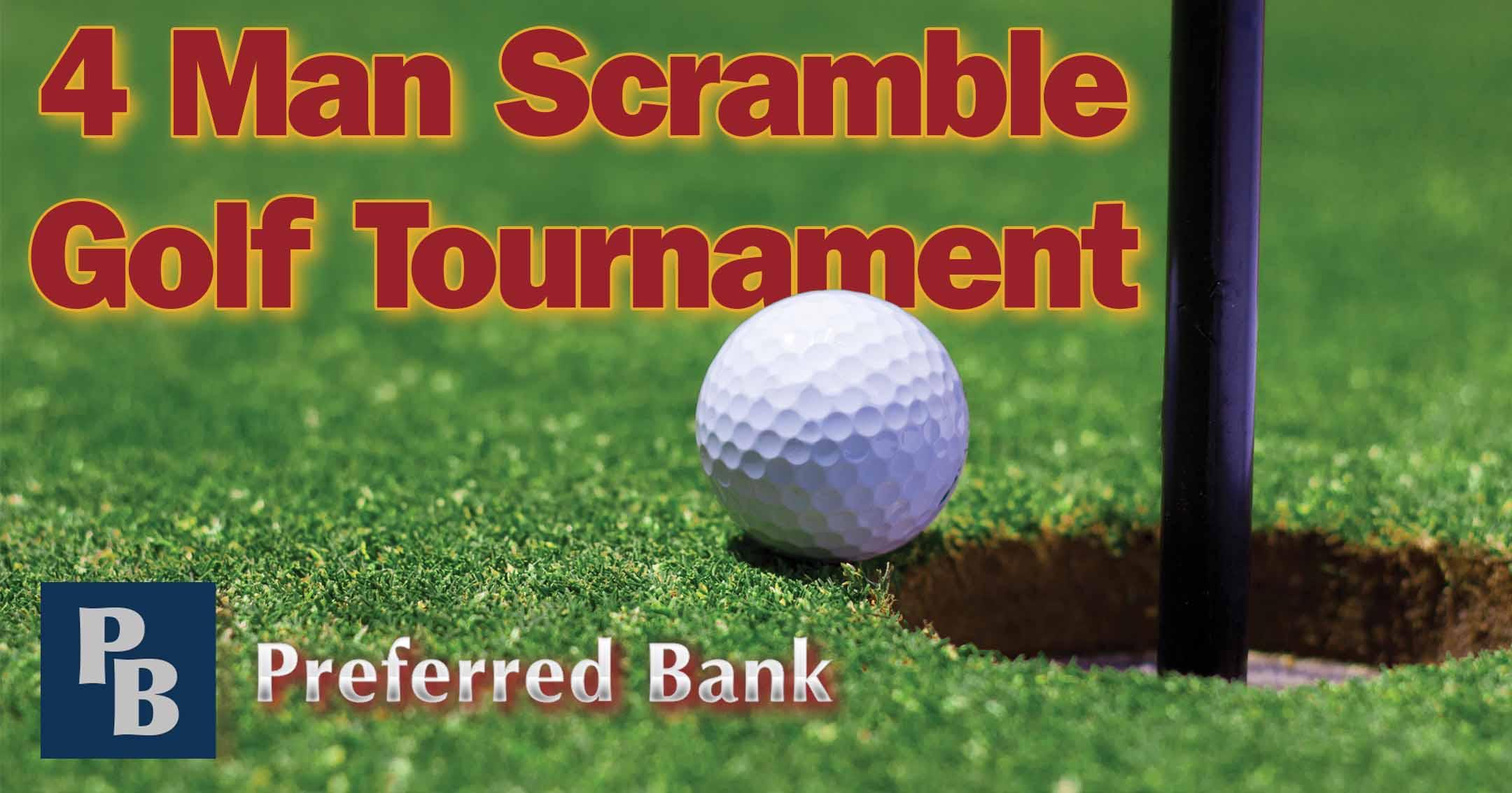 2021 4 Man Scramble Golf Tournament | DowntownMarceline.org