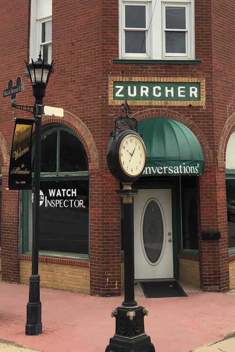 Zurcher Building Disney Story | DowntownMarceline.org